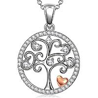 ANGEL NINA Regalo per Lei, Collana albero della vita, argento sterling 925, ogni momento speciale, design originale…