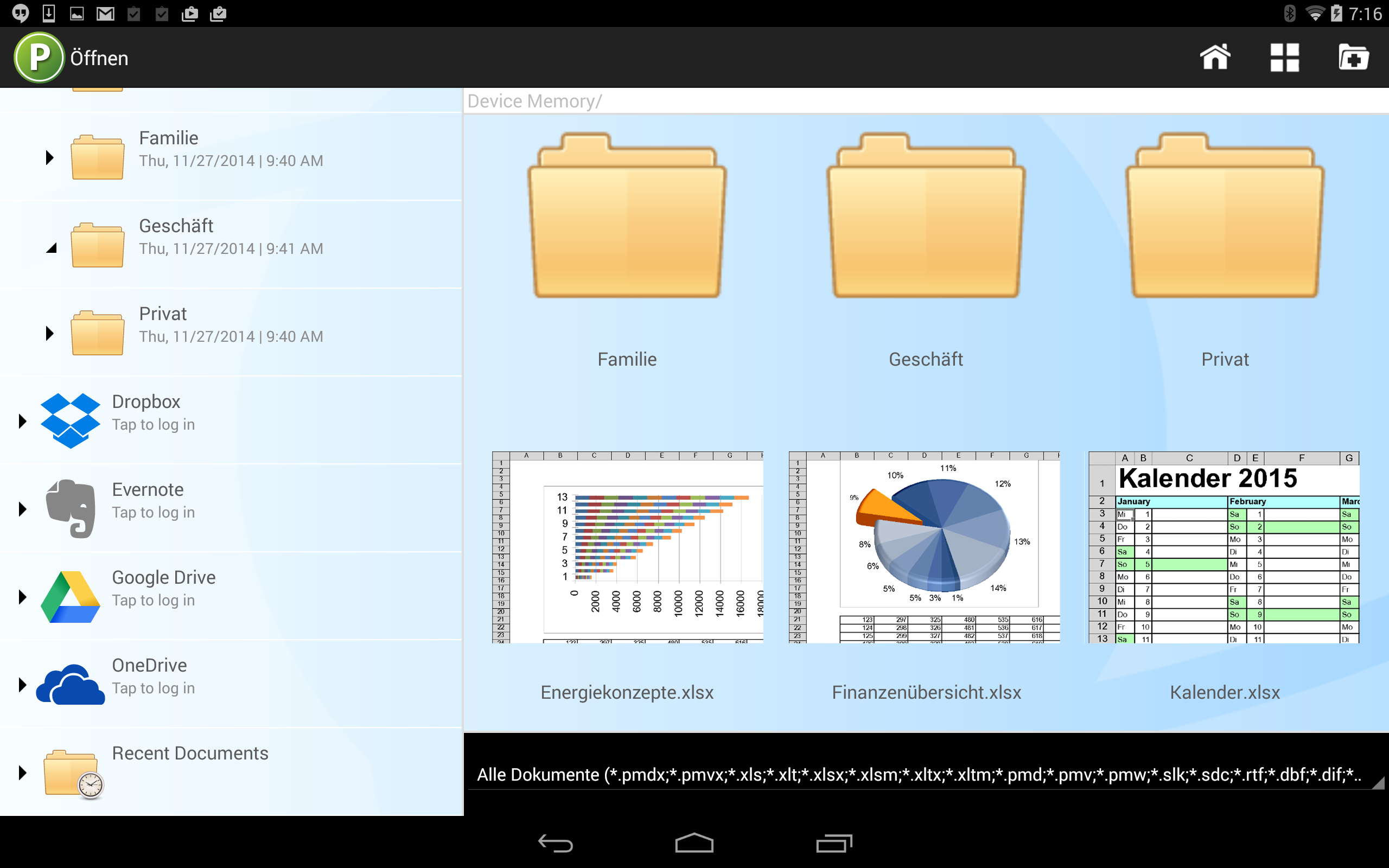 PlanMaker HD Basic: Amazon.de: Apps für Android