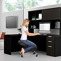 Chaise à Genoux, Chaise à Genoux réglable, Tabouret Ergonomique, adapté à la Maison et au Bureau-améliorer la Posture…
