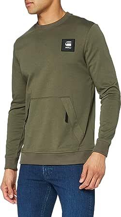 G-STAR RAW Box Logo Pocket Tweater Maglia di Tuta Uomo
