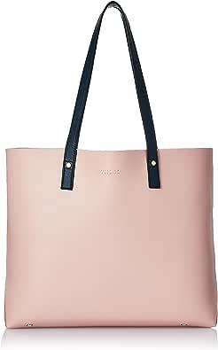Amazon Brand - Symbol Autumn-Winter'20 womens Handbag (Pink with Navy)