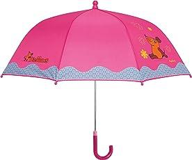 Playshoes MAUS Mädchen Regenschirm MAUS Blümchen, Die Sendung mit der MAUS