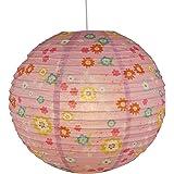 Niermann w trybie czuwania lampa sufitowa z balonem papierowym zajączek, wielokolorowa