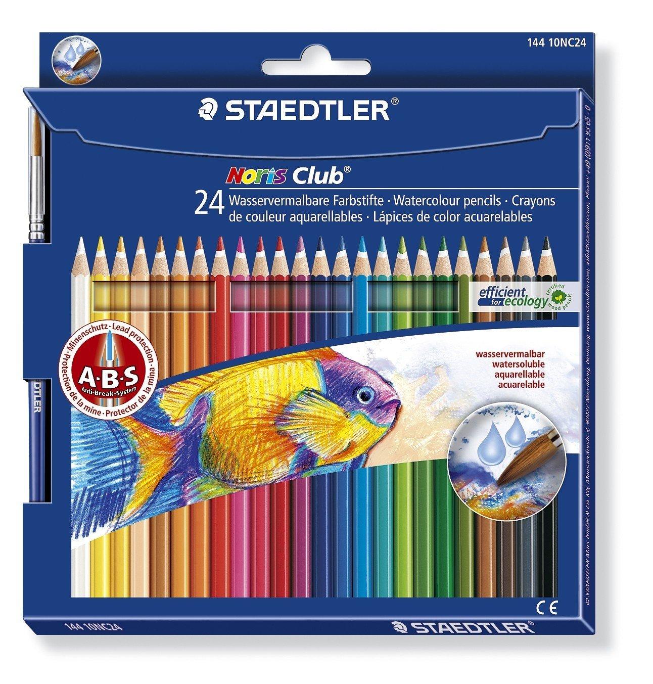 crayon aquarelle staedtler