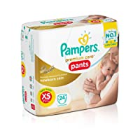Pampers XS diaper