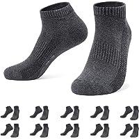 Falechay Trainer Ankle Socks Men 10 Pair Low Cut Sport Short Socks Ladies Cotton Breathable