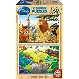 Educa - 13144 - Puzzle Bois Wd 2X50 pièces - Animal Friends