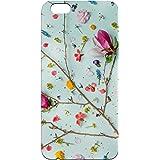 B2B Flowers Pattern tan Printed Soft Designer Mobile Back Cover for Oppo F3