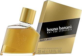 bruno banani Man's Best – Eau de Toilette Herren Parfüm Natural Spray – Eleganter, maskuliner Premiumduft für Männer – 1er Pack (1 x 30ml)