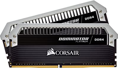 Corsair CMD16GX4M2C3333C16 Dominator Platinum16GB (2x8GB) DDR4 3333 (PC4-26600) C16 Desktop Memory