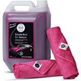 WAVEX Microfiber Cleaning Cloth with Car Shampoo 340 GSM (2 Piece)
