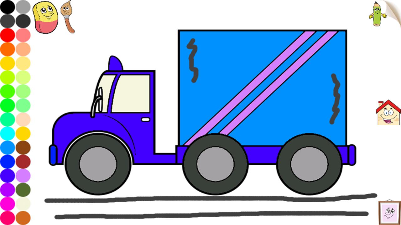 Auto E Macchine Da Colorare Per Bambini E Ragazzi Camion Aerei