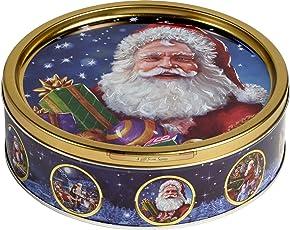 Jacobsens of Denmark - Nostalgic Santa (Danish Butter & Chocolate Chip Cookies, 6er Pack) (6 x 340 g)