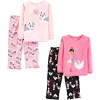 Simple Joys by Carter's Bambina set pigiama, 4 Pezzi