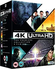 The Premier 4K Ultra HD - 6 Movies Collection: The Revenant + Kingsman: The Secret Service + Life of Pi + The Maze Runner + Independence Day + Exodus: Gods and Kings (4K UHD + Blu-ray + Digital Download) (13-Disc Box Set) (Region Free + Slipcase Packaging + Fully Packaged Import)