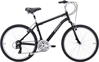 REID Boy's Comfort MTB New 48cm Hybrid Bike - Dark Grey, 130 x 40 x 20