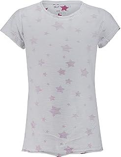 Bright White|White 1000 Kanz Baby-M/ädchen 1//4 Arm T-Shirt 92 Violett
