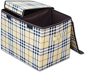 Foldable Storage Boxes, Laundry Bag for Clothes, Baskets for Storage, Laundry Baskets for Clothes with Partition 18x12x13(L*B*H)