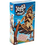 Jenga Bridge Wooden Block Stacking Tumbling Tower Game for Kids Ages 8 and Up, 1 or More Players