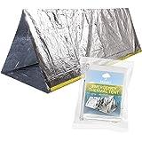 Bramble Tente de Survie Urgence Réutilisable pour 2 Personnes: Couverture Thermique