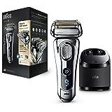 Braun Series 9 9296cc Wet&Dry - Afeitadora Eléctrica para hombre para Barba, Recortadora de Precisión Extraíble, Recargable I