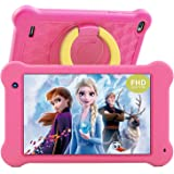 Tablette Enfants 7 inch Android 10 Tablettes FHD 1920x1200 IPS Screen, 2GB RAM 32GB ROM