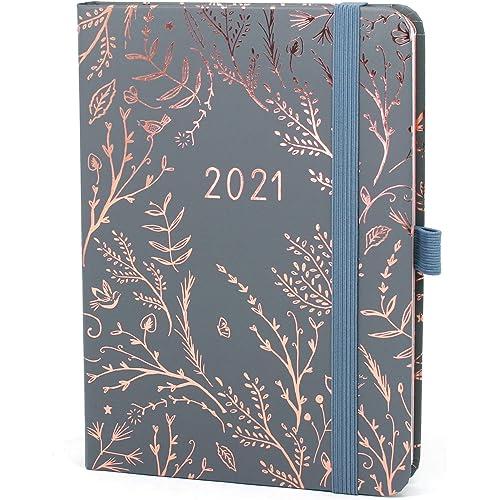 Everyday Boxclever Press Agenda 2021. Agenda settimanale 2021 da Gen a Dic 21. Bellissimo planner settimanale con pagine per note a puntini per idee e liste. Agenda Planner (Grigio)