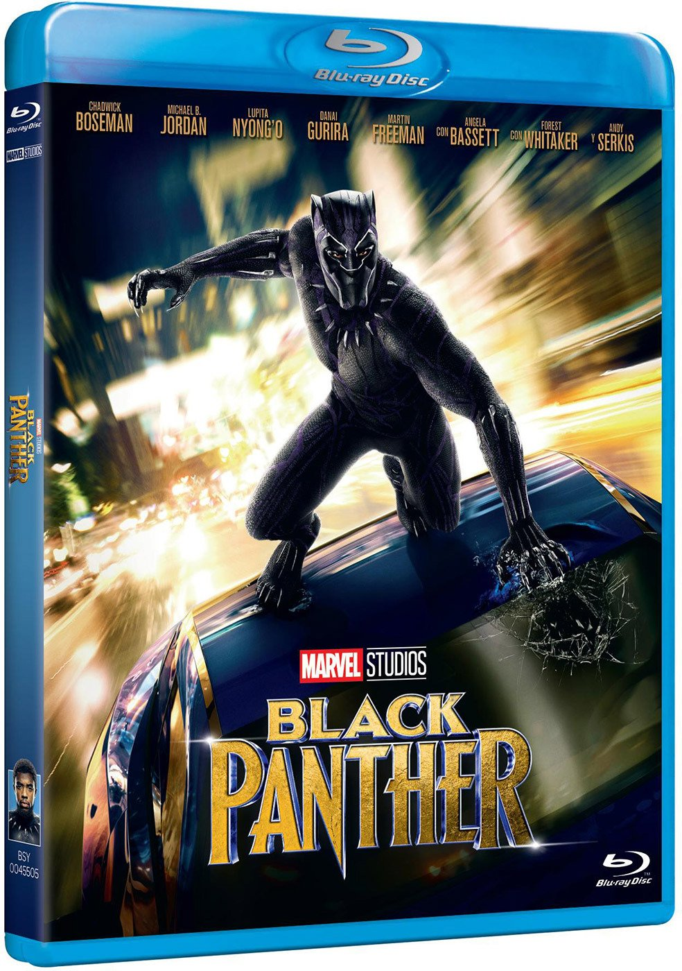 81tudhZhxJL - Black Panther [Blu-ray]
