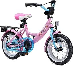 BIKESTAR Premium Sicherheits Kinderfahrrad 12 Zoll für Mädchen ab 3-4 Jahre ★ 12er Kinderrad Classic ★ Fahrrad für Kinder