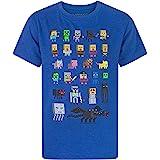 Minecraft Sprites Characters - Camiseta de manga corta para niño