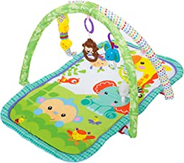 Baybee Baby's Playmat Gym with Toys, Made of Non Toxic Materials (Assorted Colour)