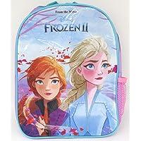 TDL Disney Frozen Sac À Dos pour Les Enfants - Licence Officielle - 30 cm - Bretelles Réglables - Filet Latéral…