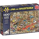 Jumbo 13035 - Jan Van Haasteren - Die Hundshow - 1500 Teile