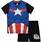 Marvel Pijamas para Niños Capitan America
