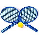 KandyToys Jumbo Soft Tennis Set with 2 Rackets & Soft Ball