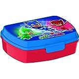 PJ Masks 2055 Sandwichera Restangular Multicolor Producto de plástico; Libre BPA; Dimensiones Interiores 16,5x11,5x5,5 cm