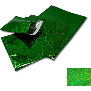 Birthdays etc 165mm x 165mm - CD Perfect for mailing or Gift wrap for Christmas EPOSGEAR 5 Pack Silver Holographic Metallic Gloss Foil Padded Bubble Mailing Gift Postal Bag Envelopes