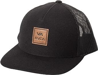 RVCA Men's Adjustable Snapback Curved Brim Trucker Hat