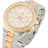 PRINCELY Casual Watch For Men - Stainless Steel -P558GBSR-WH