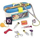 B. Toys-BX1110 Jouet Dr. Doctor – Trousse de medecin de Luxe – Jeu d'Imagination – pour Enfants de 18 Mois et Plus (10 pièces