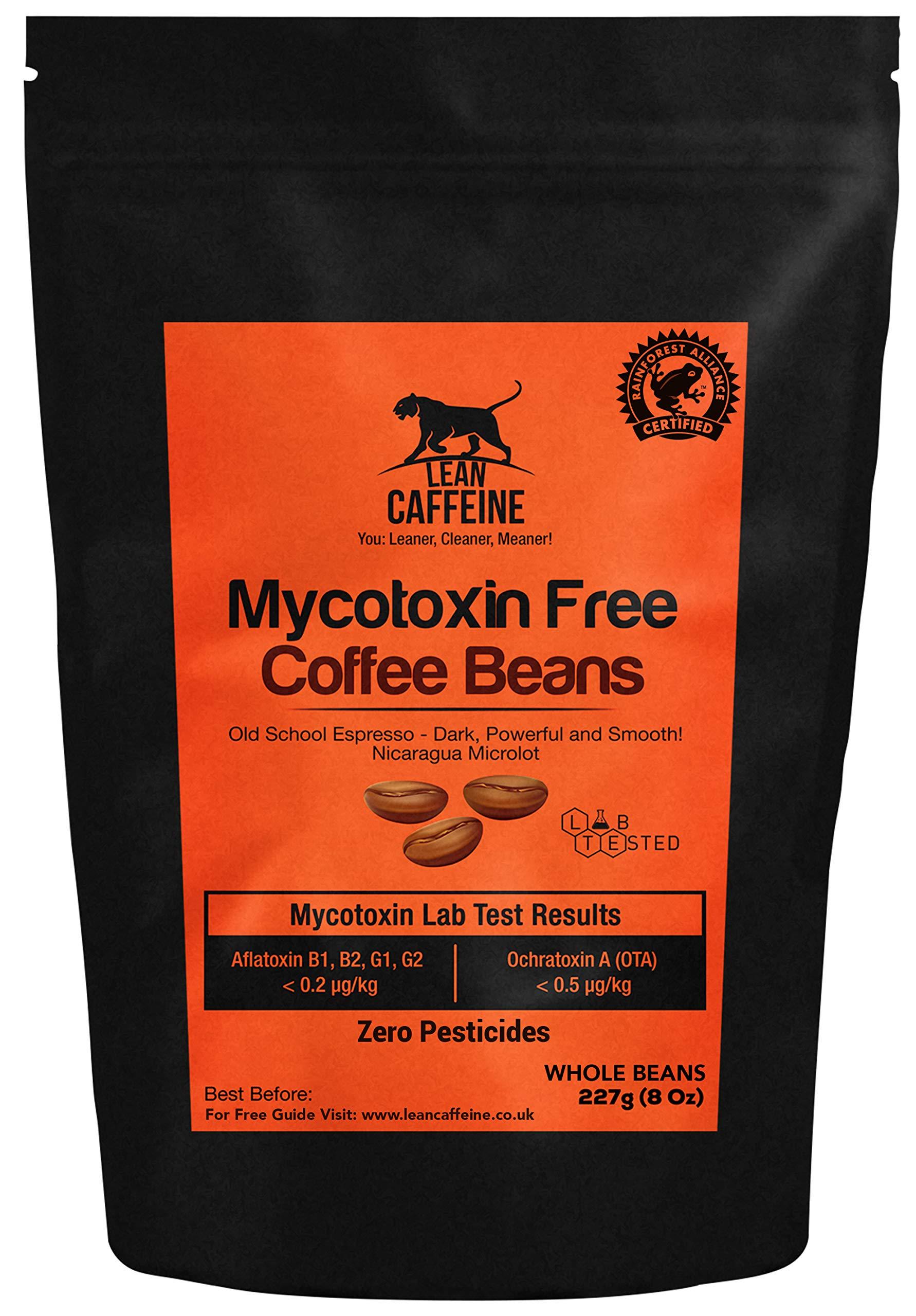 Bulletproof Coffee Beans 227 Gram | No Pesticides / Mycotoxins | Upgraded Coffee Beans 227 Gram Lean Caffeine
