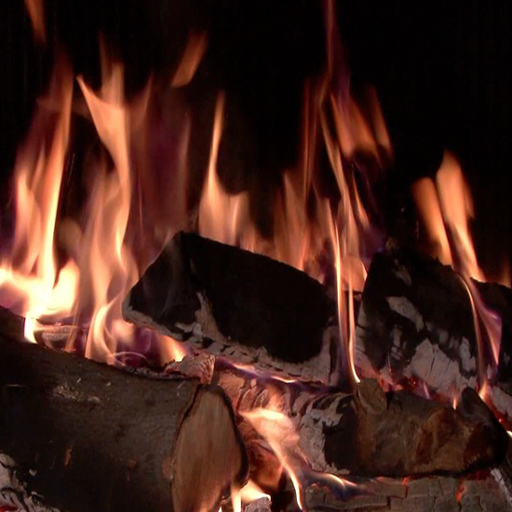 Fireplace of Love - 720p High-definition Video