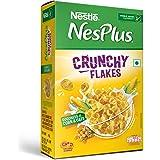 Nestlé NesPlus Breakfast Cereal - Crunchy Flakes with Corn & Oats, 475g Carton