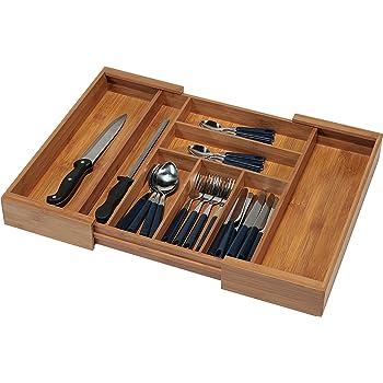 473 x 397 mm Nobilia ab 2013 Orga-Box Eiche Besteckeinsatz f/ür 50er Schublade z.B Holz-Besteckkasten mit 6 F/ächer III