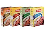 Five Star Ice Cream Mix Combo of Chocolate, Badam Pista and Kesar Pista, Vanilla- 100g Each (Pack of 4)
