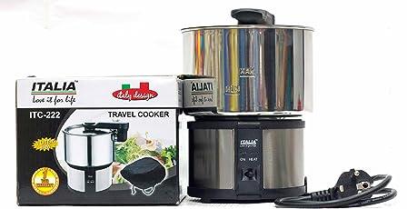 ITALIA Steel Travel Cooker