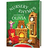 Baby Birthday Gift - Personalised Book of Nursery Rhymes and Modern Poems for Toddlers and Newborns