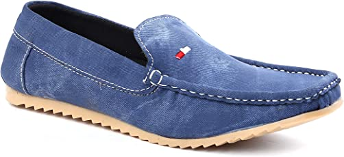 FOX HUNT Denim Loafer Shoes New Model 2018 Casual