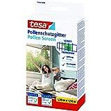 tesa Pollenhor - Transparant pollengaas voor allergieën – Voor naar binnen draaiende ramen - Snijdbaar en incl. zelfklevend k