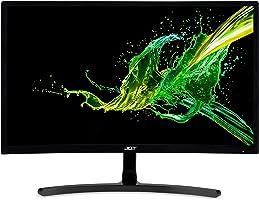 23.6 ACER ED242QRAbidpx FHD AMD FreeSync LED 4MS 144HZ 250 Nits (HDMI DVI DP) Kavisli Gaming Siyah Monitör